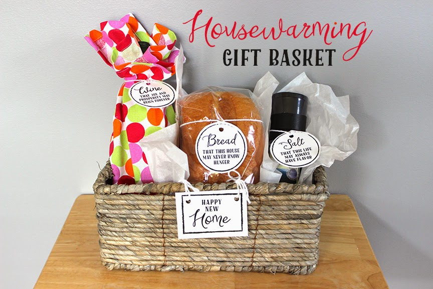 Sohl design housewarming gift basket House warming present