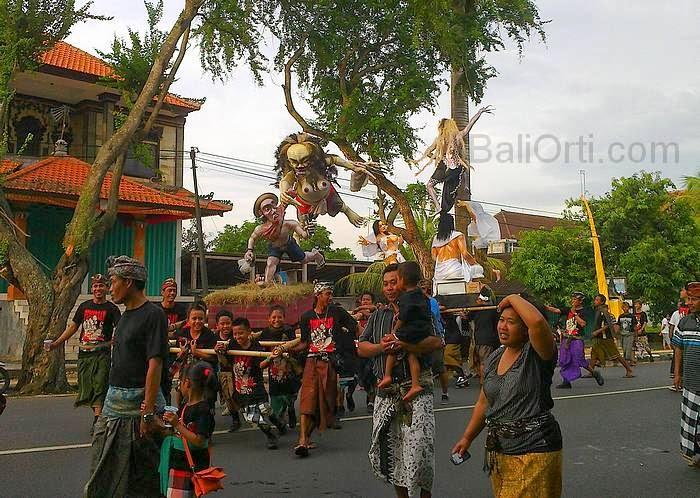 Ogoh-ogoh Parade 2014