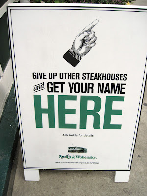 There are many steakhouse options when dining in New York, but could you give them all up but one