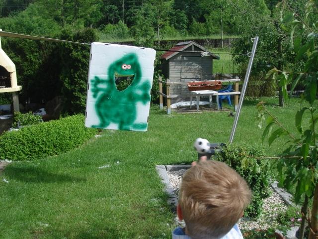 Katis kreative Ecke Monster Kindergeburtstag