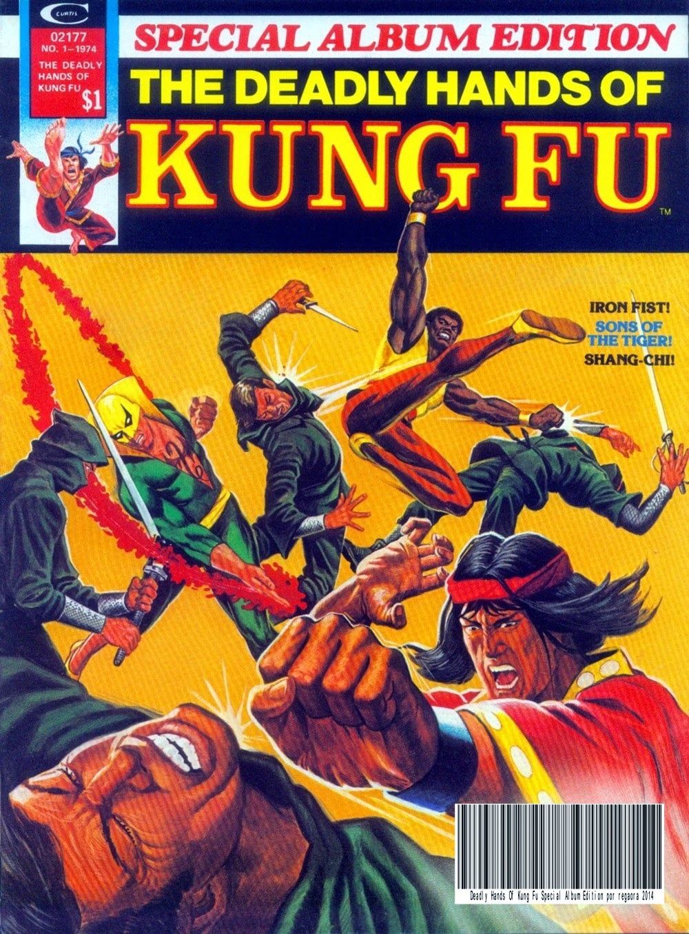 Portada de The Deadly Hands of Kung Fu Special Album Edition