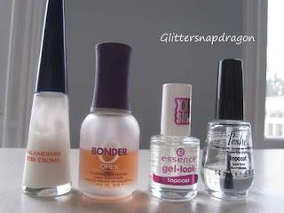 Glittersnapdragon nail polish routine