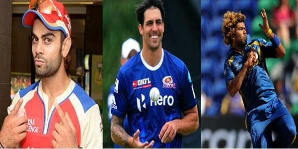 Top 10 Fit Players of IPL