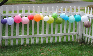 etsy blog, party lanterns, outdoor party, outdoor kids, etsy.com