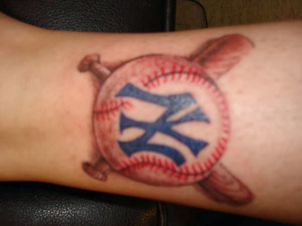 baseball tattoos