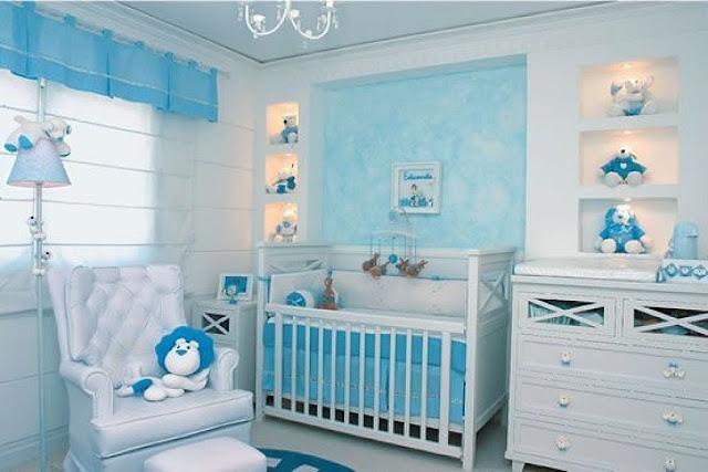Dormitorios para bebes varones fotos de dormitorios - Colores para habitaciones de bebe ...
