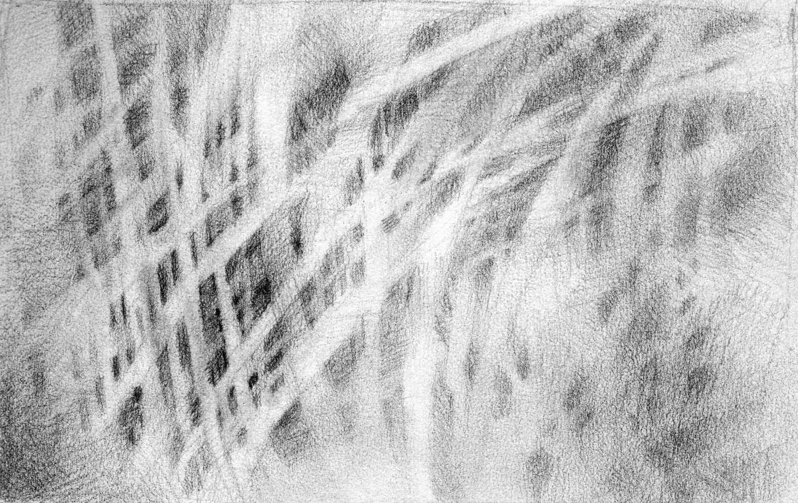 abstract pencil drawing woven artist janine aykens