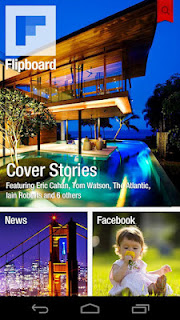 Flipboard para Android e iPhone, Revista con contenidos de tu Social Media