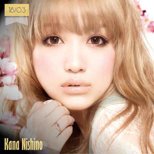 18 de marzo | Kana Nishino - @nishino_kanaLov | Info + vídeos