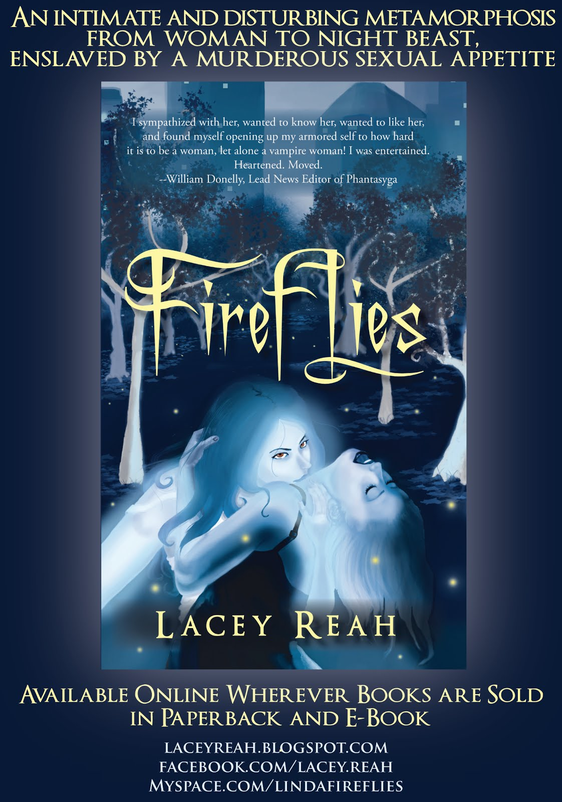 FIREFLIES by Lacey Reah