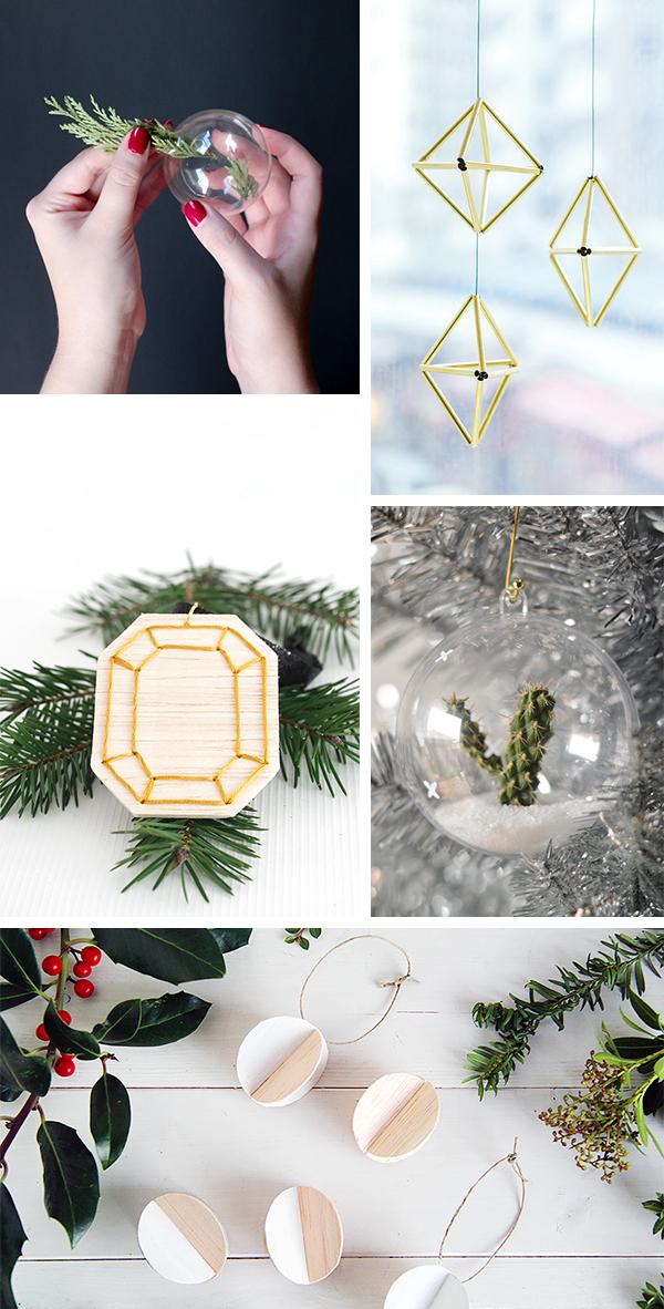 12 DIY Holiday Decor and Ornaments