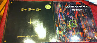 Crazy Baby Doc - Blessed Are Who\'ve Got A Poor Brain 12\'\' (1985, Rebel Rec.) / Crazy Baby Doc - My Religion 12\'\' (1987, Rebel Rec.)