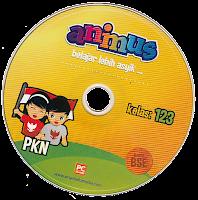 toko buku rahma: buku CD ANIMUS PKN KELAS 1, 2, 3  SD