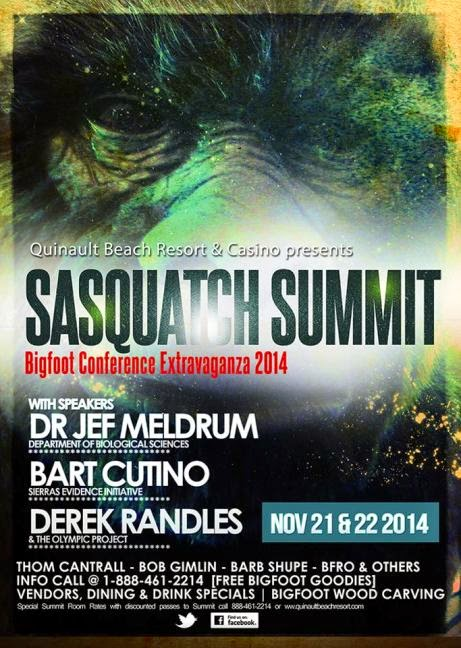 Sasquatch Summit 2014 Poster
