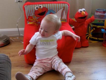 Uhhhh, somebody loves Elmo, eh?