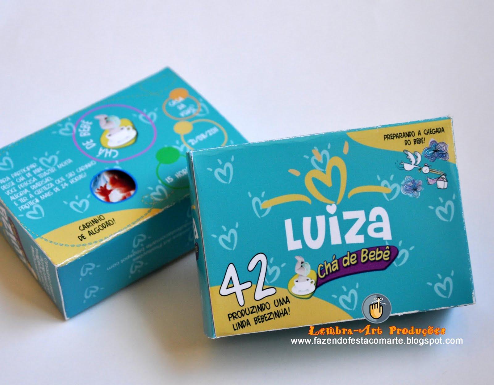 Famosos Lembra-Art Produções: Criatividade no convite chá de bebê/chá de  XN34
