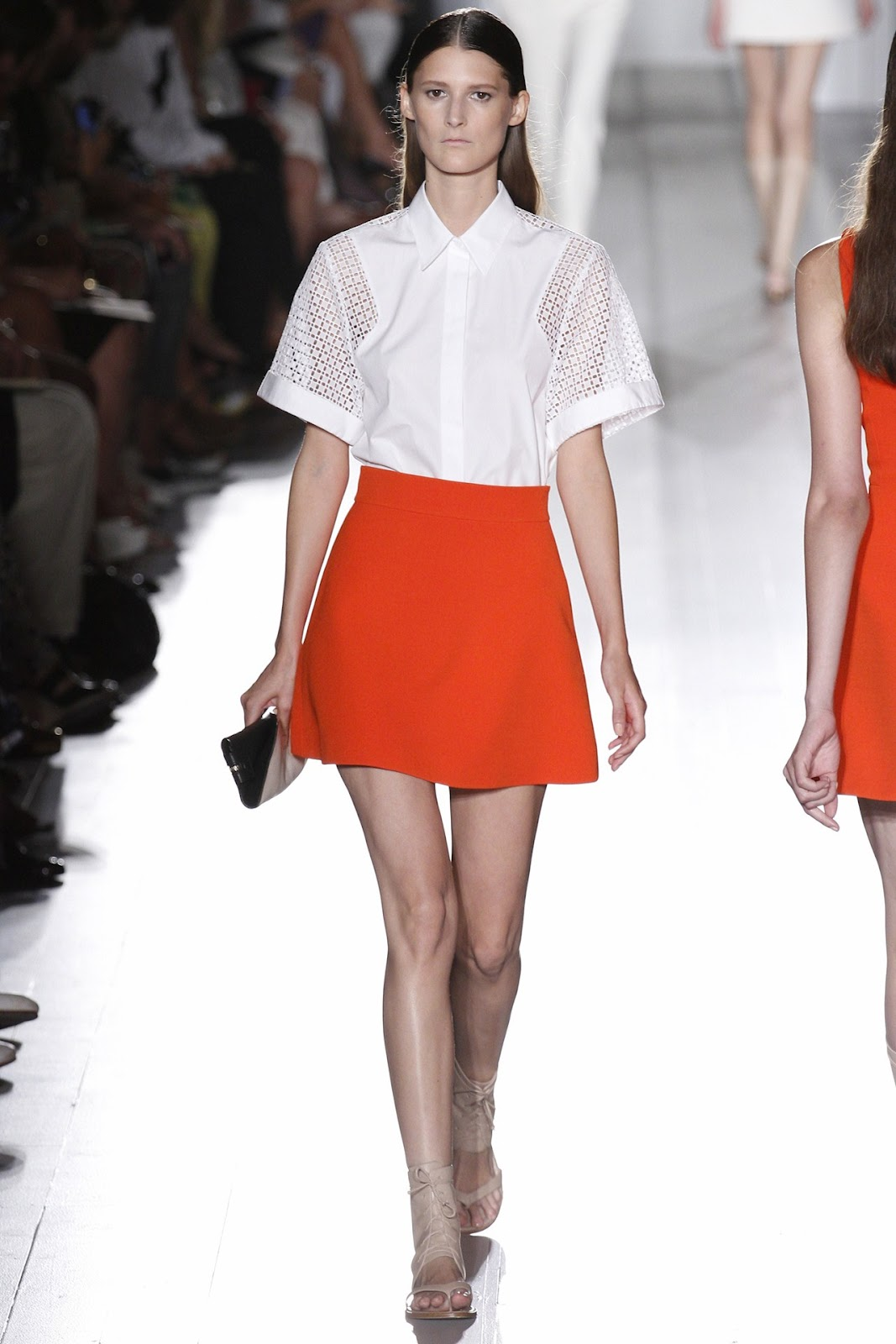 New York Fashion Week Victoria Beckham, Spring Summer 2013 Ready To