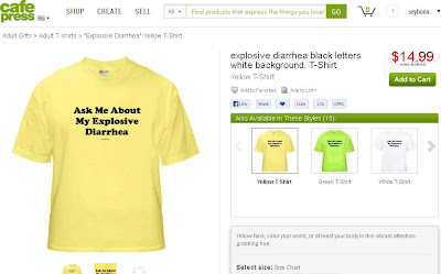 How to deal with Diarrhea T-Shirt