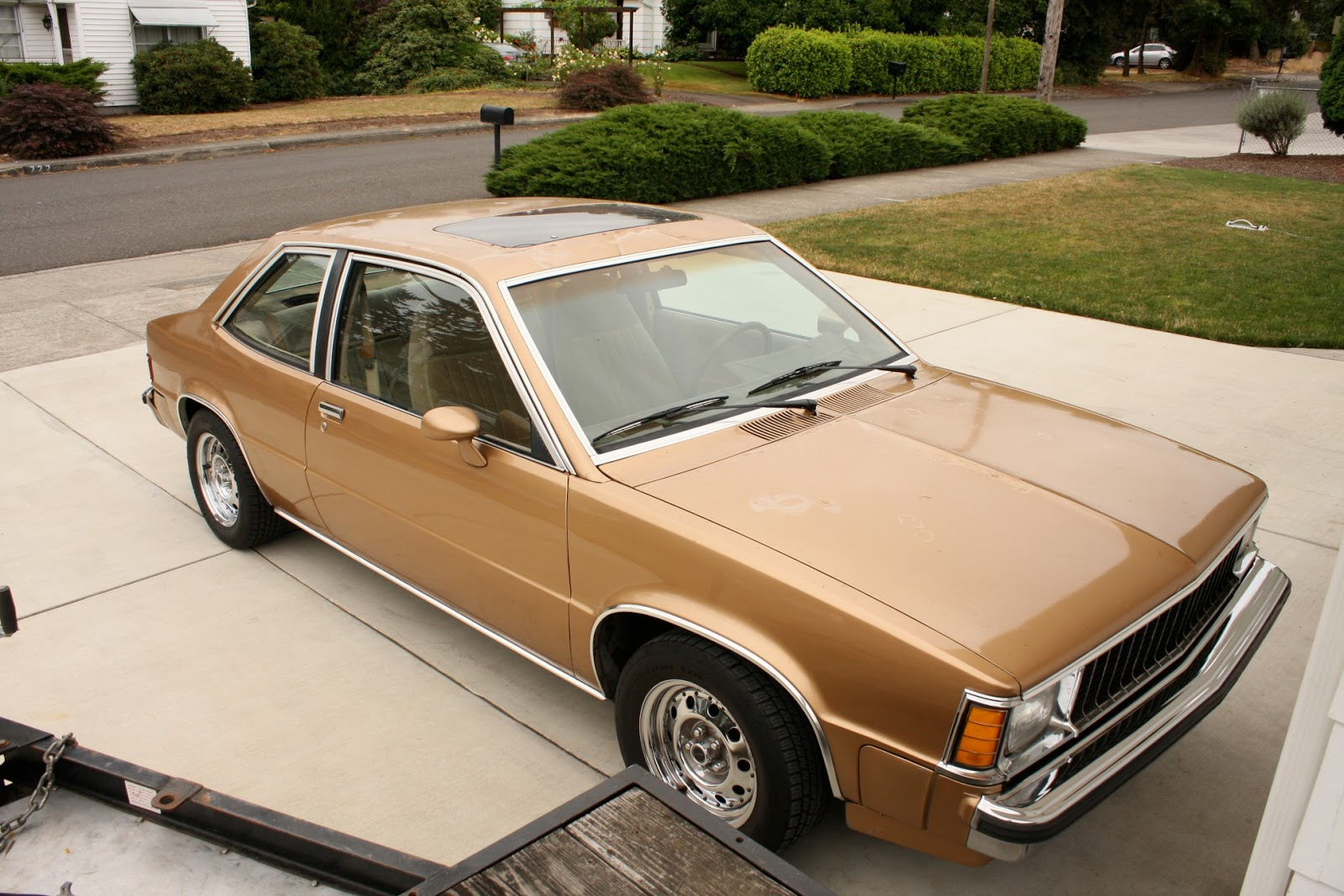 1982 Chevrolet Citation Notchback.