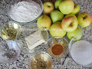 Placinta cu mere ingrediente reteta