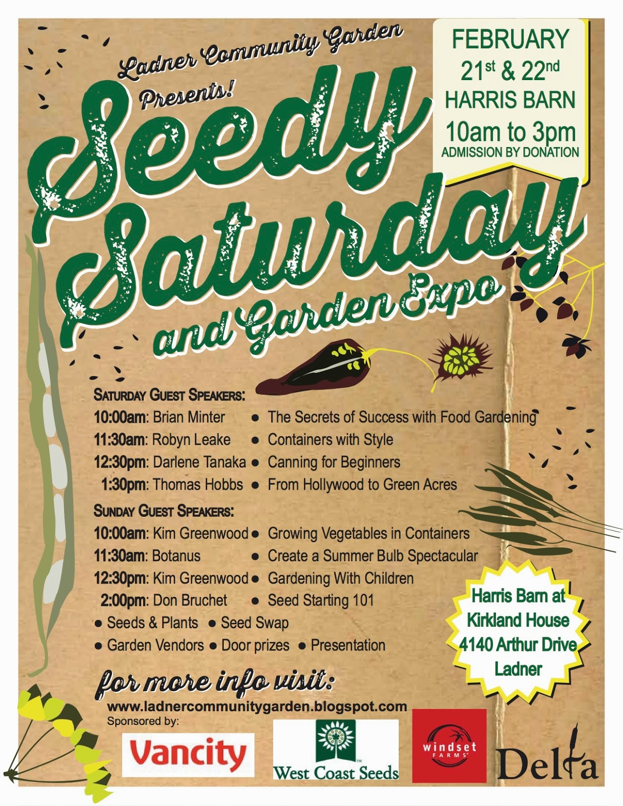 Ladner Community Garden Just Two Days to Go