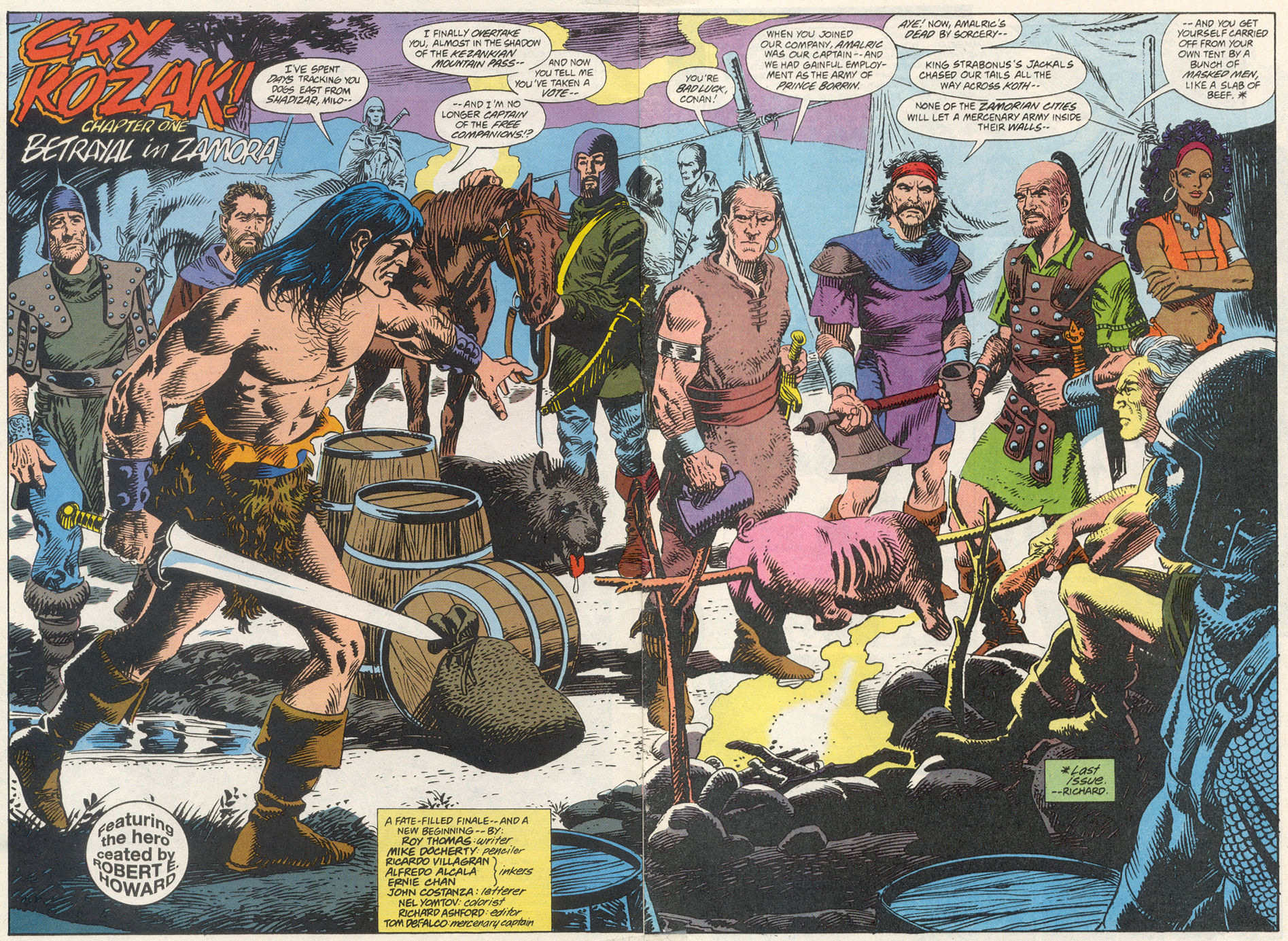 Conan the Barbarian (1970) Issue #275 #287 - English 3