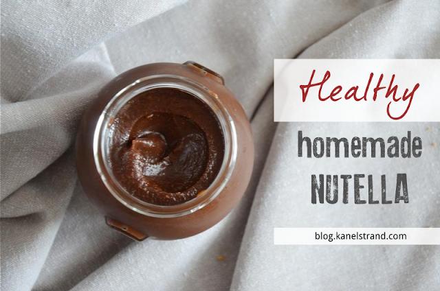Healthy Homemade Nutella Recipe (Vegan)