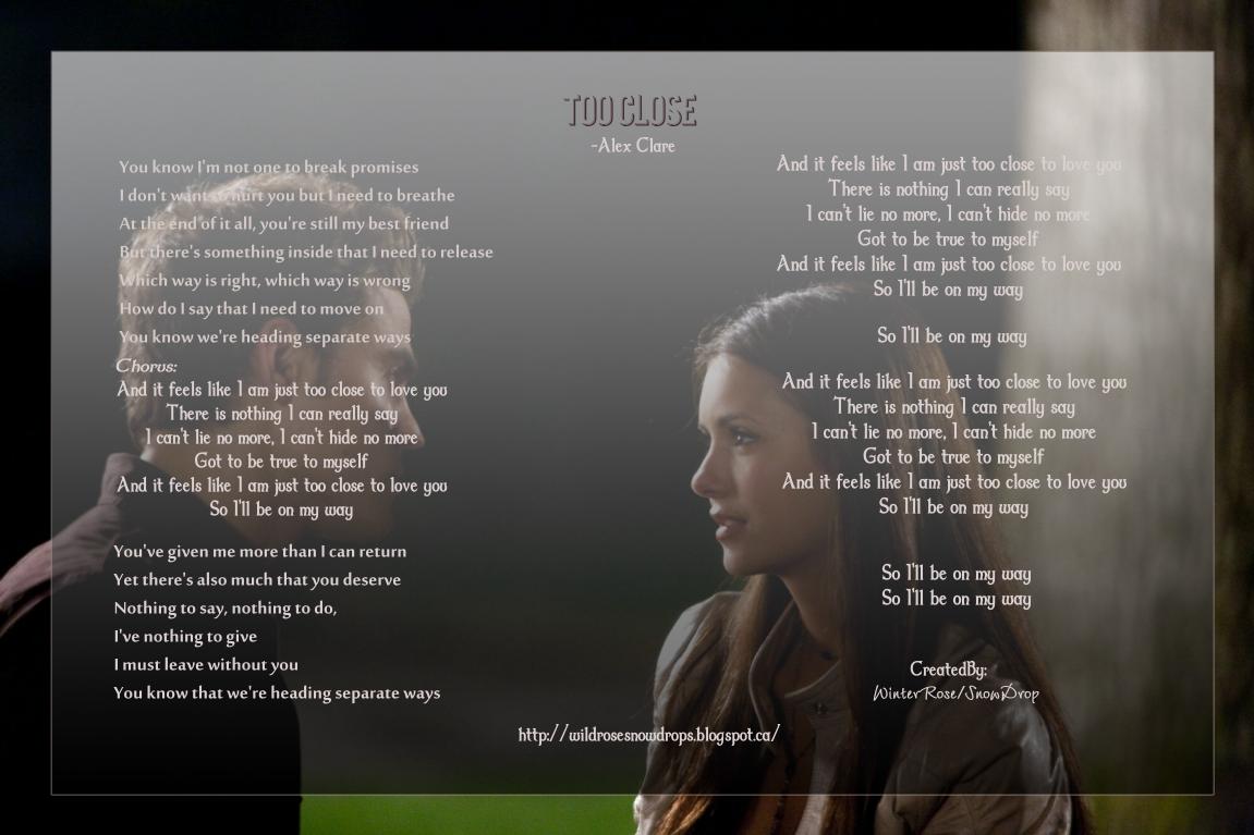 Alex Clare – Too Close Lyrics | Genius Lyrics
