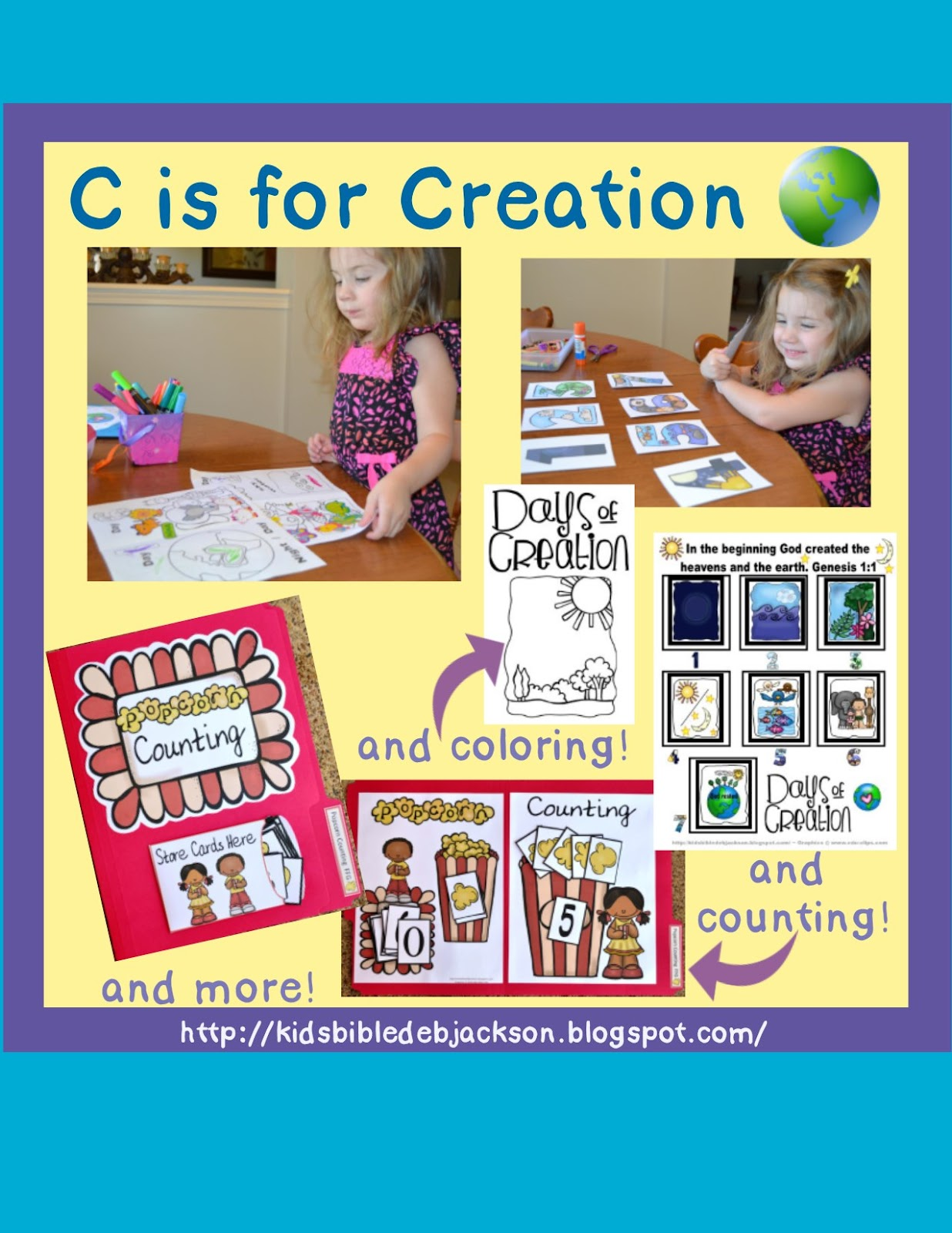 http://kidsbibledebjackson.blogspot.com/2014/08/preschool-alphabet-c-is-for-creation.html