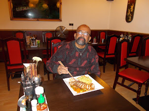 """Saturday(5-9-2015) :-Arrival Prague  and my first Asian lunch at """"Pho Viet"""" Vietnamese restaurant."""