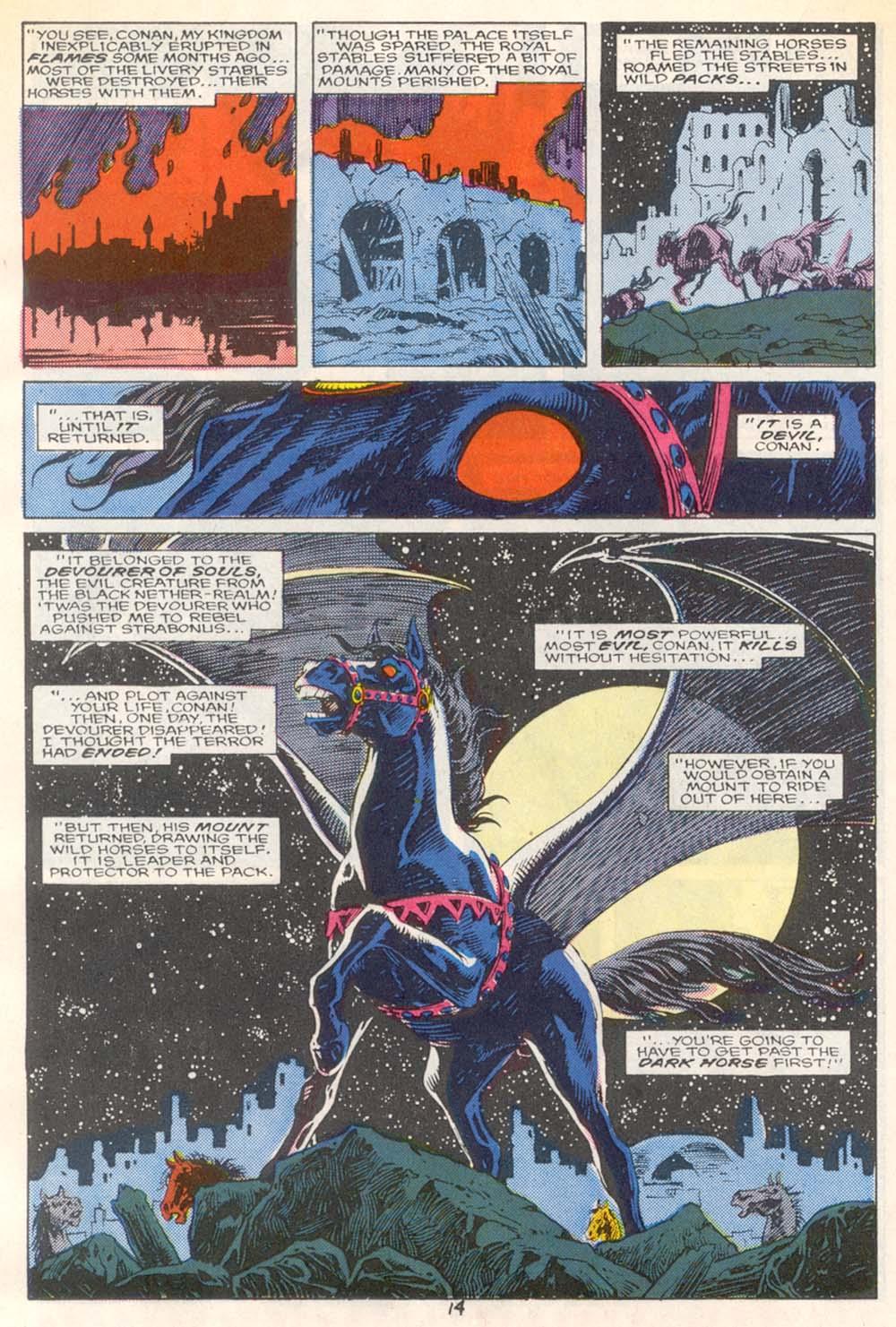 Conan the Barbarian (1970) Issue #209 #221 - English 12