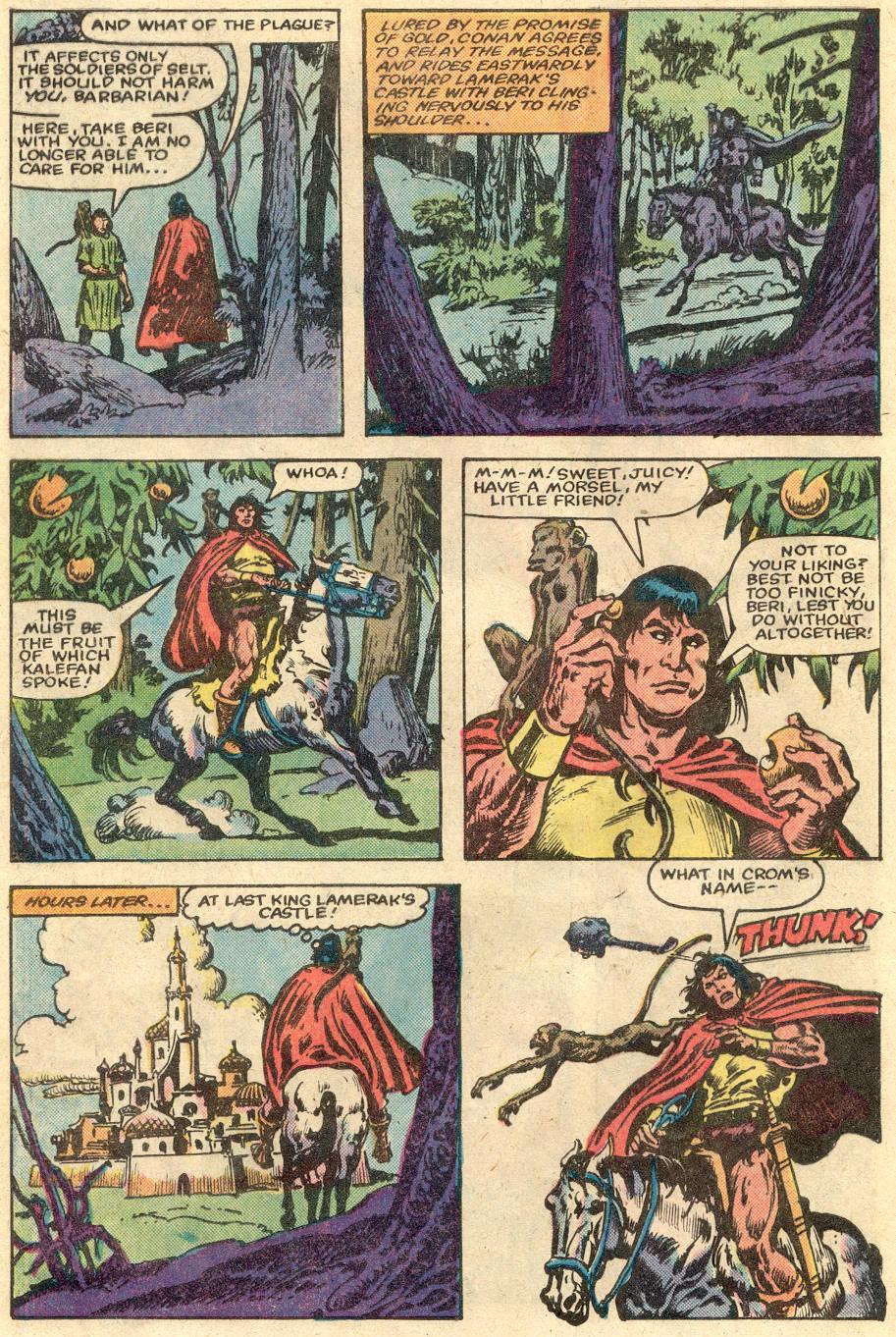 Conan the Barbarian (1970) Issue #148 #160 - English 6