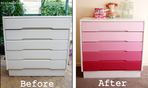 If you loved painted furniture or are thinking about using Chalk paint on furniture for the first time then you should check this post full of 25 incredible makeoevers. 25 Fabulous painted furniture ideas!