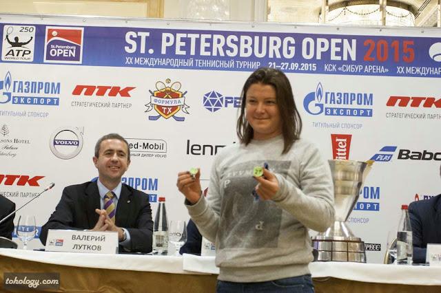 Валерий Лутков и Динара Сафина