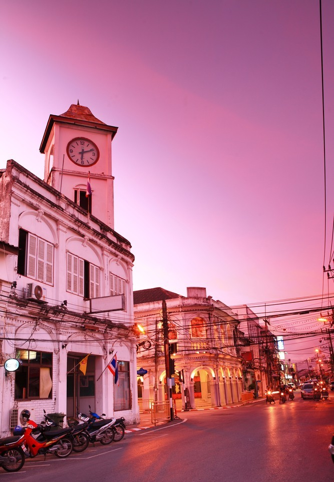 Phuket Thailand Guide: The Old Phuket Town and Famous Street