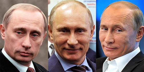 男性微整形, Putin after plastic surgery and filler injection