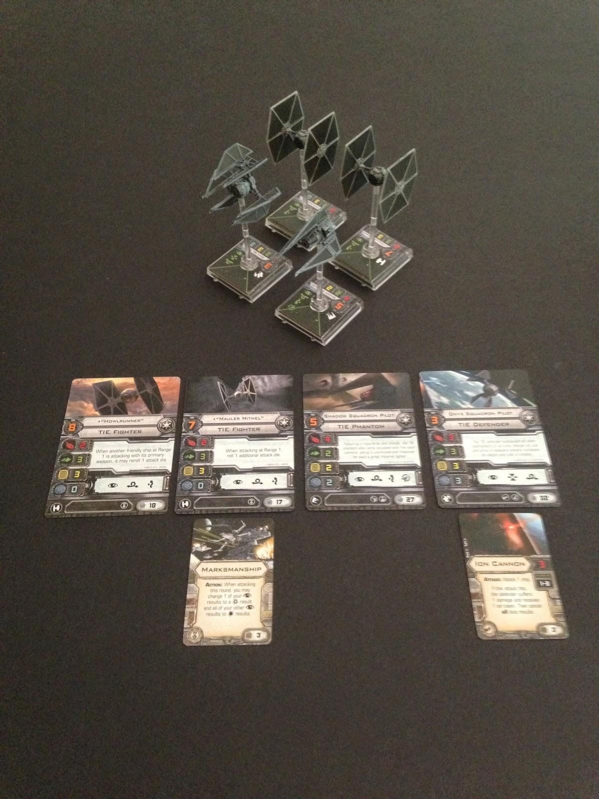 Battle Gaming One, X-wing, Beginning Tournament, First Tournament