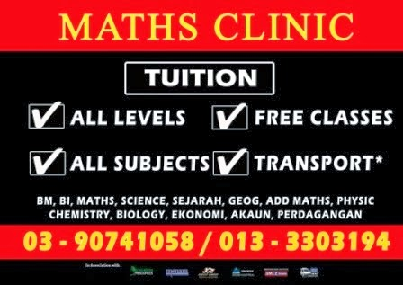 Maths Clinic Cheras