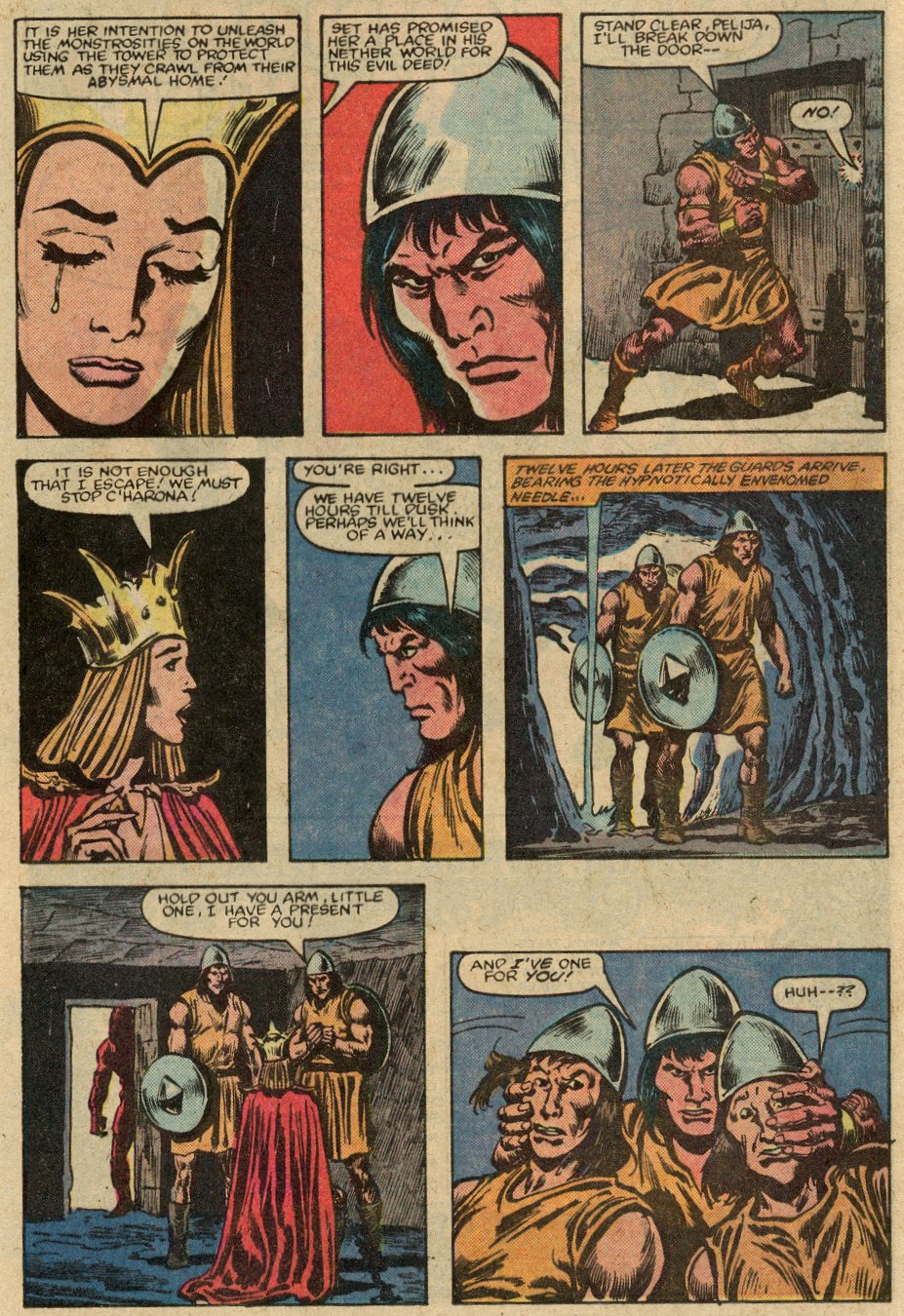 Conan the Barbarian (1970) Issue #147 #159 - English 18
