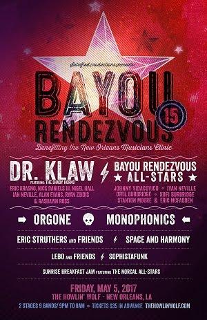 5/5 : 15th Annual Bayou Rendezvous - Poster by Ryan Kerrigan