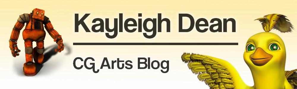 Kayleigh Dean CG Arts Blog