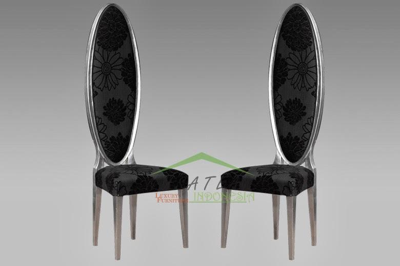 Quadro Oval High Back Chair