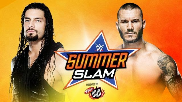 WWE SummerSlam 2014 » Randy Orton vs Roman Reigns