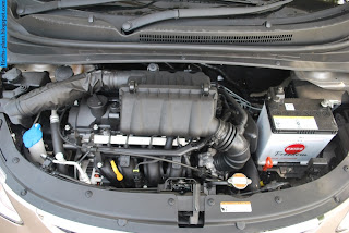Hyundai i10 car engine - صور محرك سيارة هيونداى i10