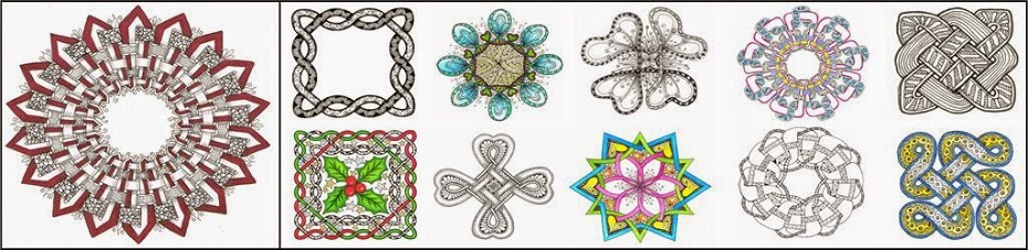 celtic knots with judy west - Celtic Patterns To Colour