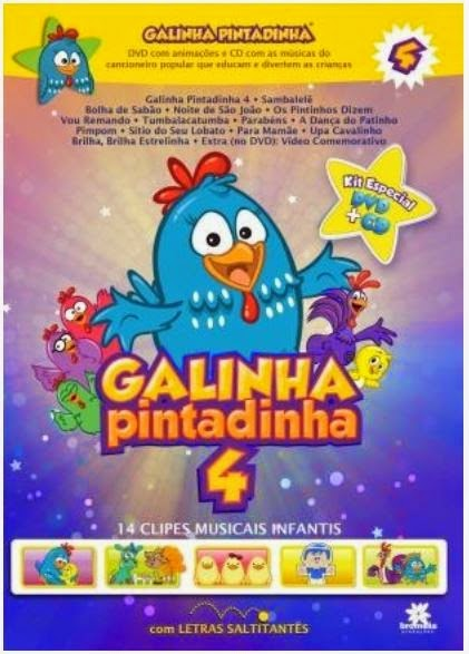 Baixar Galinha Pintadinha Volume 4 DVDRip
