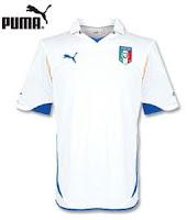 Euro 2012 Italy Away Jersey