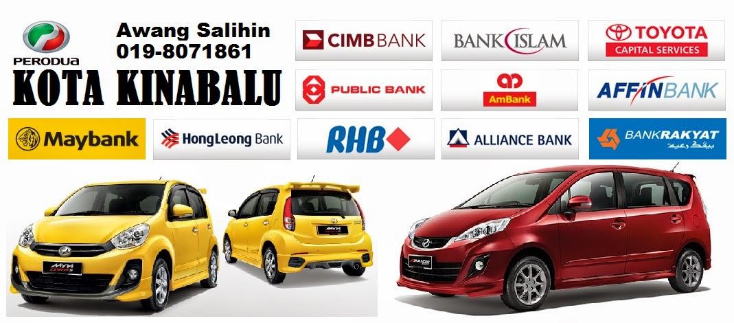 Perodua Kota Kinabalu Sabah - Axia - Myvi - Alza