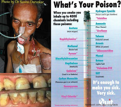 IT'S NOT COOL TO SMOKE, KNOW WHY?