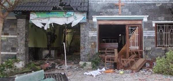 Côn đồ lại quậy phá Hội thánh Tin lành Mennonite Mỹ Phước 1, tỉnh Bình Dương